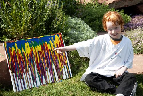 Backyard art drip4