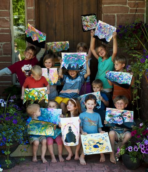 Backyard art14