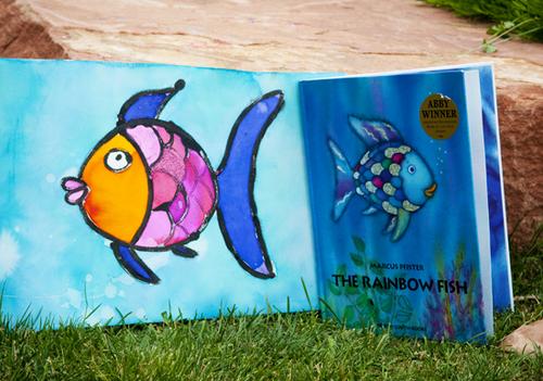 Backyard art fish1
