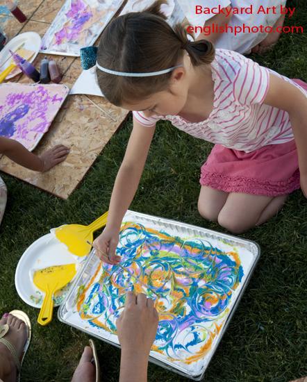 Backyard art 2