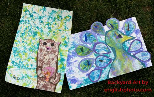 Backyard art 7
