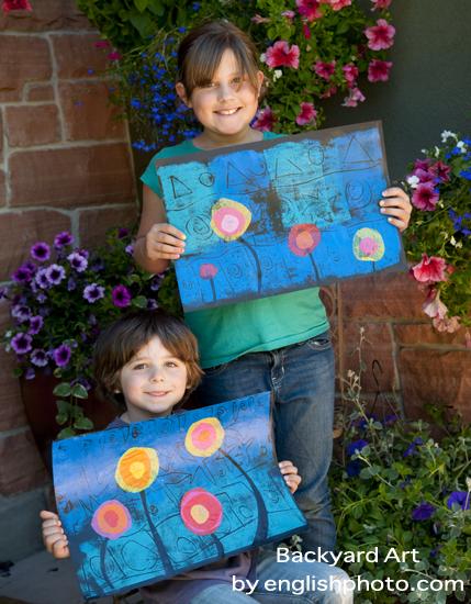 Backyard art 11