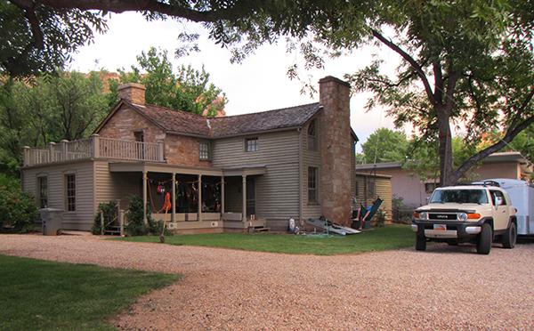 rockville backview of house